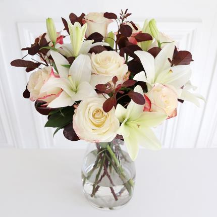Flowers - October Bouquet with Chocolates - Image 2
