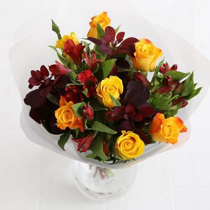 Flowers - Autumn Rose & Alstroemeria - Image 3