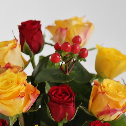 Flowers - The Autumn Mixed Roses - Image 3