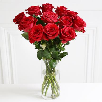 Flowers - 12 Red Roses - Image 2
