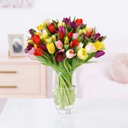 Flowers - The 50 Mixed Tulips - Image 2