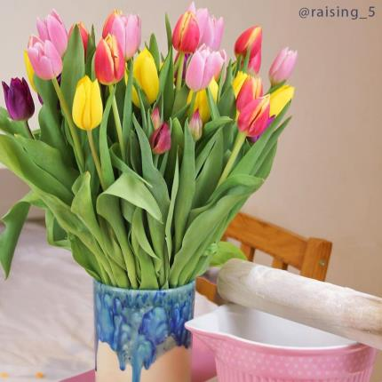 Flowers - The 50 Mixed Tulips - Image 4