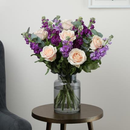Flowers - The Mixed Stocks and Roses - Image 2