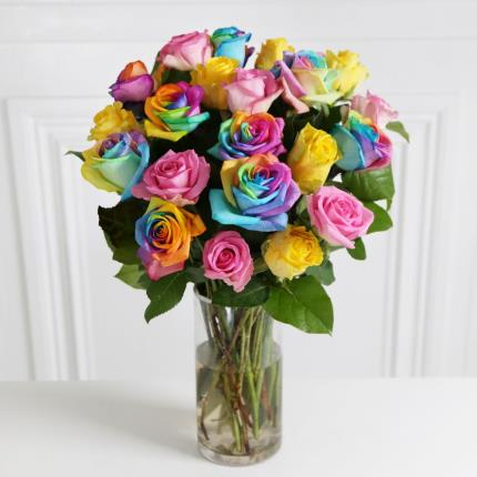 Flowers - The Grand Rainbow Roses - Image 2