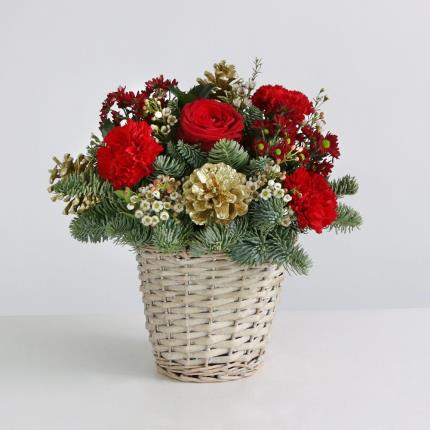 Flowers - The Festive Basket - Image 2