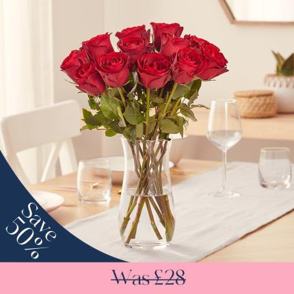Flowers - The 12 Sweetheart Roses - Image 2
