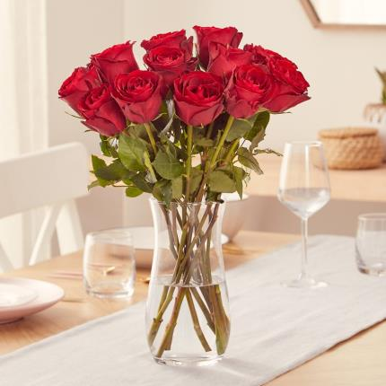 Flowers - The 12 Sweetheart Roses - Image 3