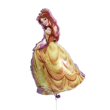 Balloons - Large Belle Disney Princess Balloon - Image 1