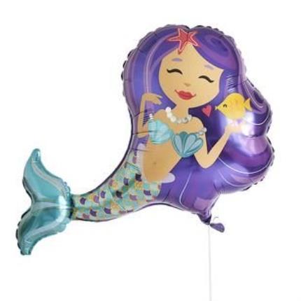 Balloons - Large Mermaid Balloon - Image 2