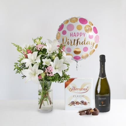 Flowers - The Luxury Happy Birthday Gift Set - Image 2