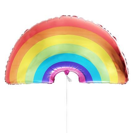 Balloons - Proud Of You Large Rainbow Balloon - Image 1