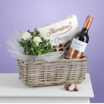 Flowers - The Red Wine Hamper - Image 2