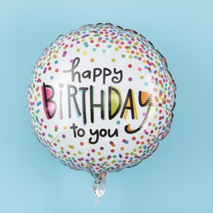 Balloons - Happy Birthday To You Balloon - Image 1