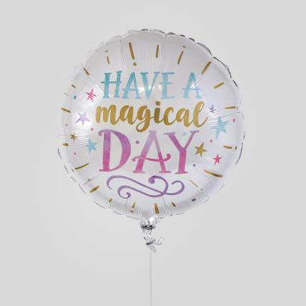 Balloons - Have A Magical Day Balloon - Image 1