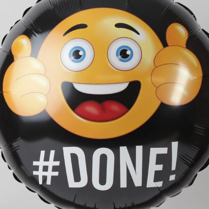 Balloons - Well Done Emoji Balloon - Image 3