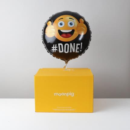 Balloons - Well Done Emoji Balloon - Image 4
