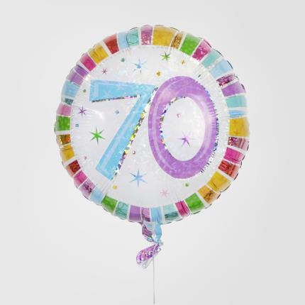 Balloons - 70th Birthday Balloon - Image 1