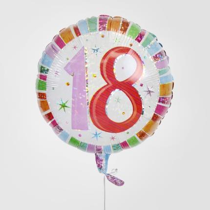 Balloons - 18th Birthday Balloon - Image 3