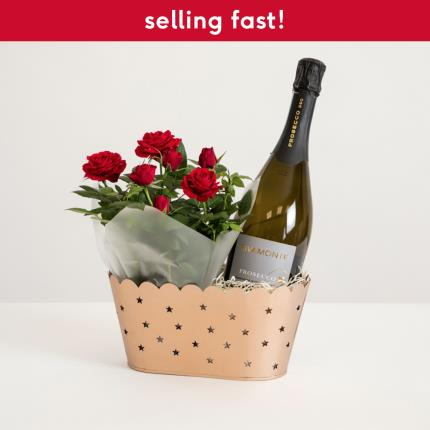 Flowers - The Christmas Prosecco Hamper - Image 2