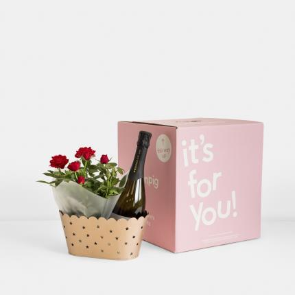 Flowers - The Christmas Prosecco Hamper - Image 4