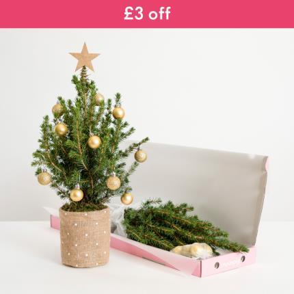 Flowers - The Letterbox Mini Christmas Tree - Image 2