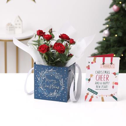 Flowers - The Christmas Rose Gift Bag - Image 3