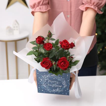 Flowers - The Christmas Rose Gift Bag - Image 4