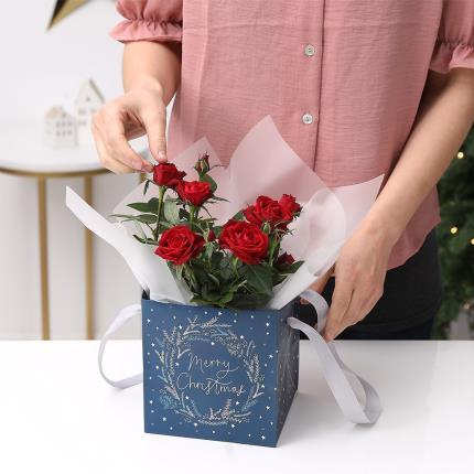 Flowers - The Christmas Rose Gift Bag - Image 5