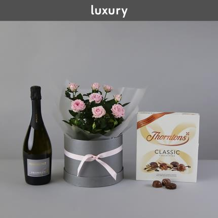 Flowers - The Mother's Day Prosecco Hat Box - Image 3