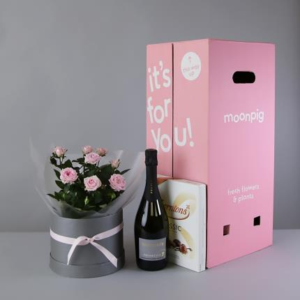 Flowers - The Mother's Day Prosecco Hat Box - Image 6
