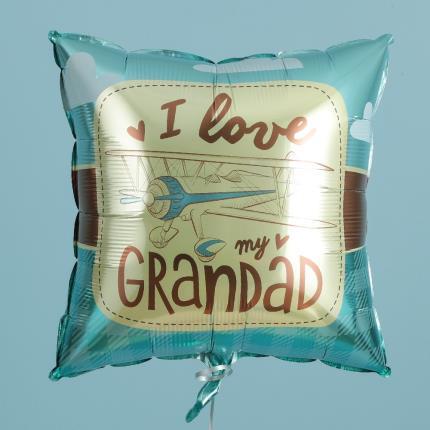 Balloons - I Love My Grandad Retro Balloon - Image 3