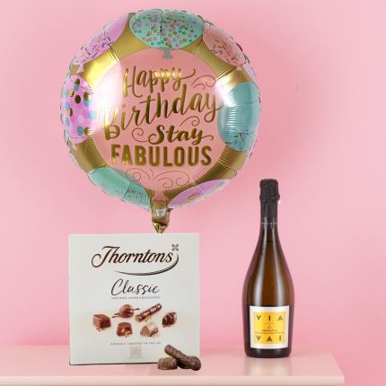 Balloons - Mum's 'Stay Fabulous' Birthday Gift Set - Image 1
