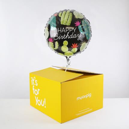 Balloons - Plant Lover Birthday Balloon - Image 4