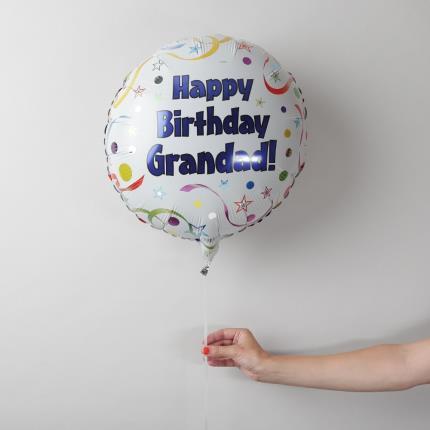 Balloons - Happy Birthday Grandad Balloon - Image 2