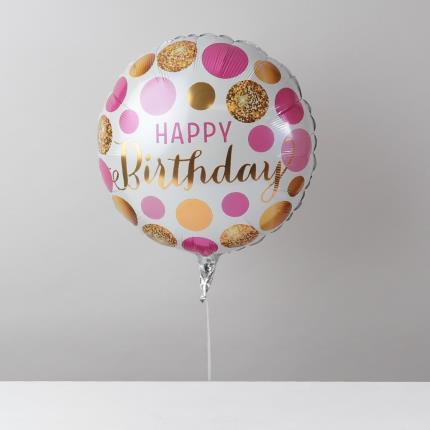 Balloons - Happy Birthday Mum Balloon Bouquet - Image 3