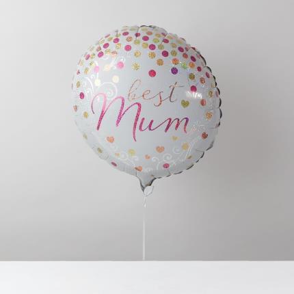 Balloons - Happy Birthday Mum Balloon Bouquet - Image 4