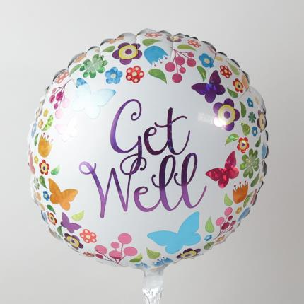 Balloons - Get Well Butterfly Balloon - Image 3