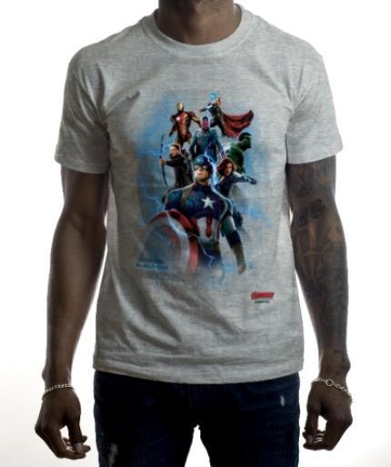 T-Shirts - Marvel The Avengers Personalised Name T-Shirt - Image 2
