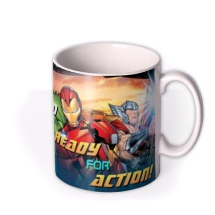 Mugs - Marvel Action Heroes Father's Day Mug - Image 2