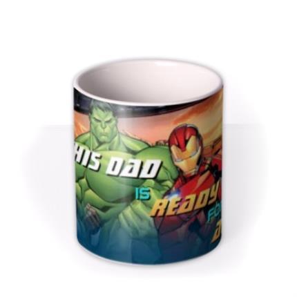 Mugs - Marvel Action Heroes Father's Day Mug - Image 3