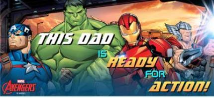 Mugs - Marvel Action Heroes Father's Day Mug - Image 4