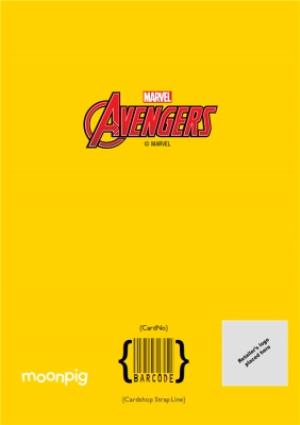 Greeting Cards - Marvel Avengers Birthday card - Warning: Comes with THUNDER - THOR - Image 4