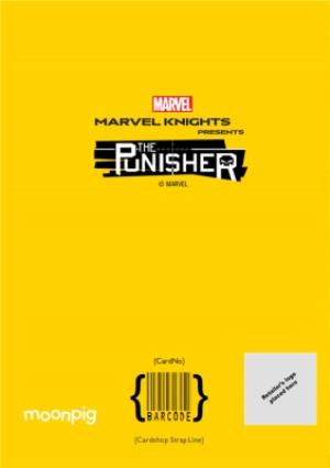 Greeting Cards - Marvel Knights - The Punisher - Birthday Card - Image 4