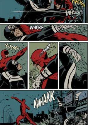 Greeting Cards - Marvel Knights - DAREDEVIL - Comic Strip - Birthday Card - Image 1