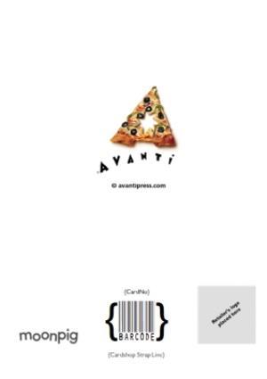 Greeting Cards - Birthday Card - Pizza - Dog - Image 4