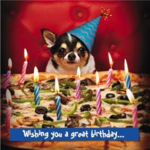 Greeting Cards - Birthday Card - Wishing you a great birthday - Image 1