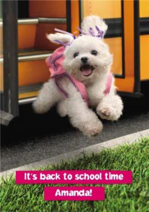 Greeting Cards - Back to scool - It's back to school time - Image 1