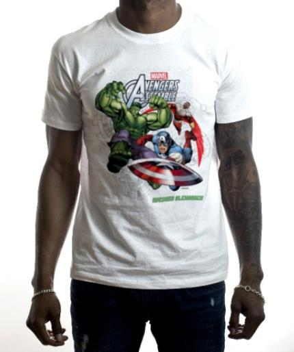 T-Shirts - Marvel The Avengers Assemble Personalised T-shirt - Image 2