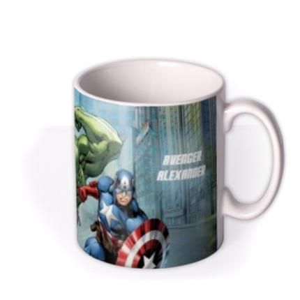 Mugs - Marvel The Avengers City Scene Personalised Mug - Image 2