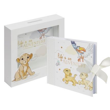 Toys & Games - Disney Lion King Simba Photo Album & Money Box - Image 1